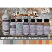 FLEX-C-MENT - Liquid Colors - PROVENCAL STONE SET